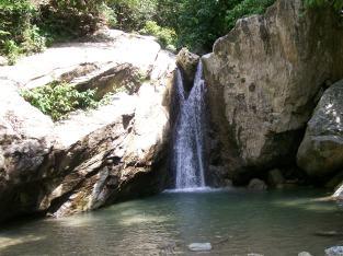 freshwater waterfall (Puerto Galera)